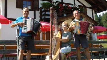 House music at the alpin inn Höhlenstein
