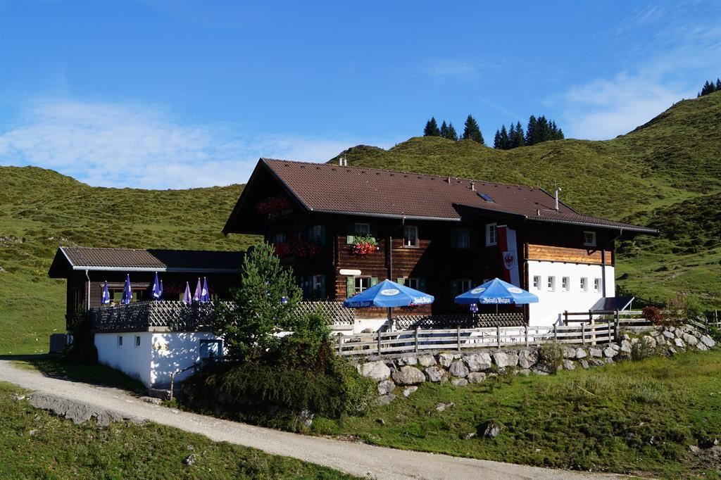 Mountain inn Walleralm